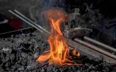 "Variations on ""The harmonic blacksmith"""