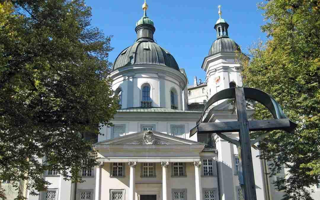 Erhardkirche und Erhardbrunnen