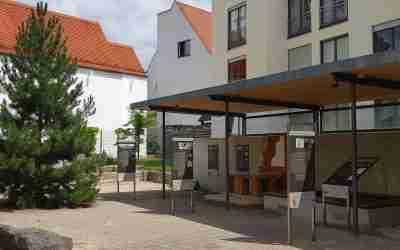 Archäologischer Garten in Augsburg