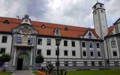Domvorplatz in Augsburg