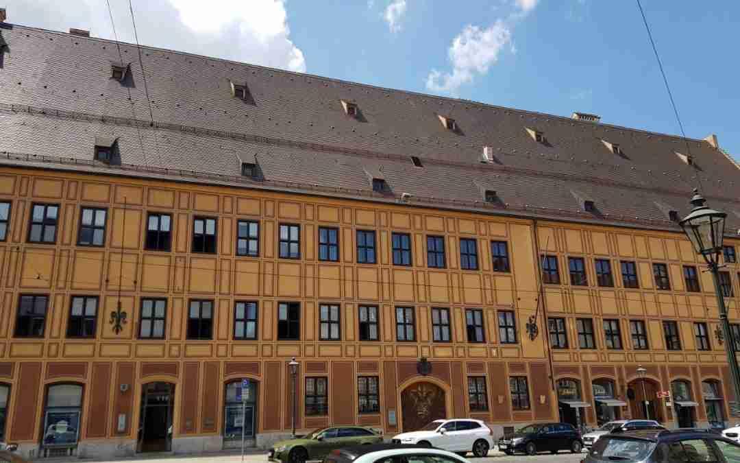 Der Fuggerstadtpalast in Augsburg