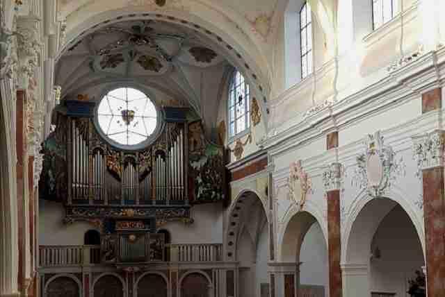 St. Anna und die Lutherstiege in Augsburg