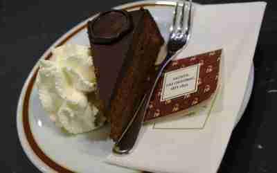 Le gâteau Sacher