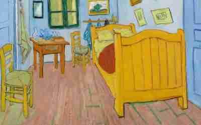 Van Gogh konnte gar nicht malen!