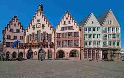 Das Dom-Römer-Areal und die Neue Altstadt in Frankfurt am Main