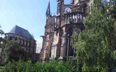 Reims und die Rosetten der Kathedrale